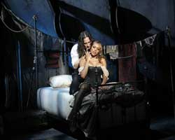 Constantine Maroulis and Deborah Cox in <I>Jekyll & Hyde</i>