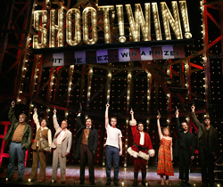 A scene from Roundabout Theatre Company's 2004 revival of <i>Assassins</i>.