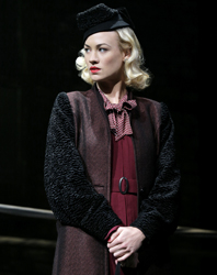 Yvonne Strahovski as Lorna Moon in <i>Golden Boy</i>.