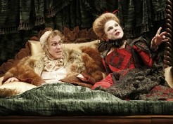 Stephen Spinella and Tovah Feldshuh in <i>Volpone, or The Fox</i>