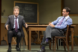 Al Pacino and Bobby Cannavale in <i>Glengarry Glen Ross</i>