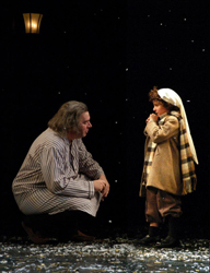 Wilbur Edwin Henry and Ryan Goldfarb in <i>A Christmas Carol - A Ghost Story of Christmas</i>