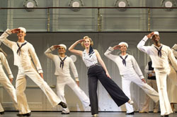 Rachel York and the cast of <i>Anything Goes</i>