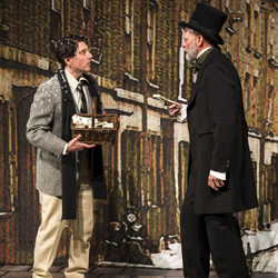 Dan Castellaneta and Ron West in <i>A Christmas Carol: Twist Your Dickens!</i>