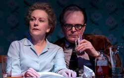 Mary Beth Fisher and Jefferson Mays in <I>Dear Elizabeth</i>