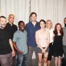 PHOTO FLASH: Adam Rapp and Cast of Rattlestick Playwrights Theater's Through the Yellow Hour
