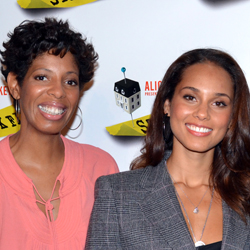 Playwright Lydia Diamond with Alicia Keys