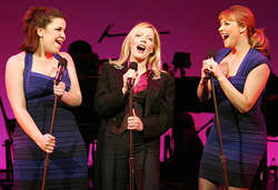 Lindsay Mendez, Sherie Rene Scott, and Betsy Wolfe in <i>Everyday Rapture</i>