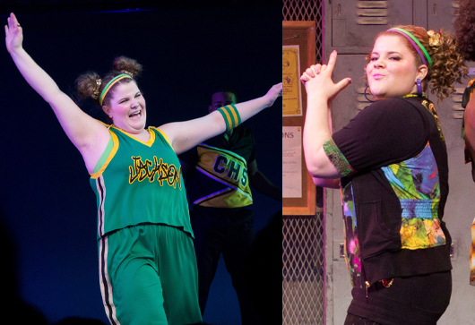 Ryann Redmond in <i>Bring It On: The Musical</i>