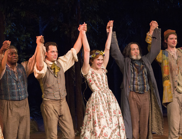 Opening Night Curtain Call Curtain Call Bow