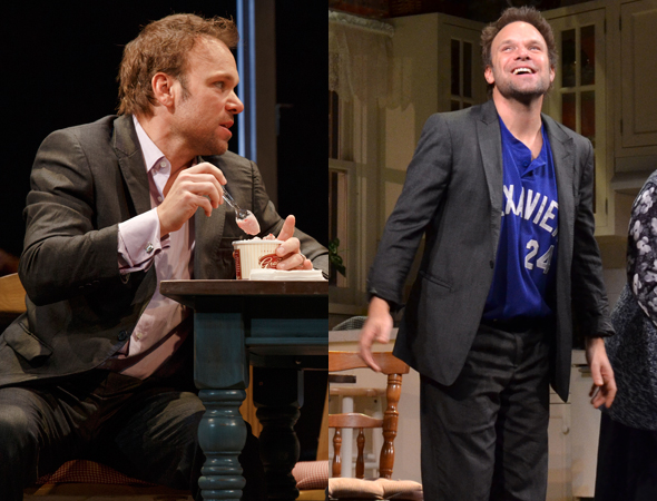 Norbert Leo Butz in <i>Dead Accounts</i>