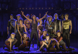 The cast of <i>Pippin</i>