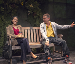 Zabryna Guevara and Armando Riesco in <i>Water by the Spoonful</i>