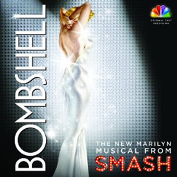 Bombshell cast album cover art
