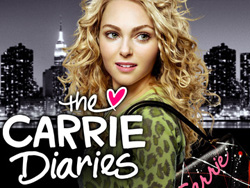 AnnaSophia Robb in <I>The Carrie Diaries</I>.