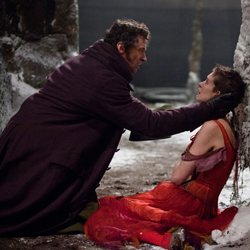 Hugh Jackman and Anne Hathaway in <i>Les Miserables</i>