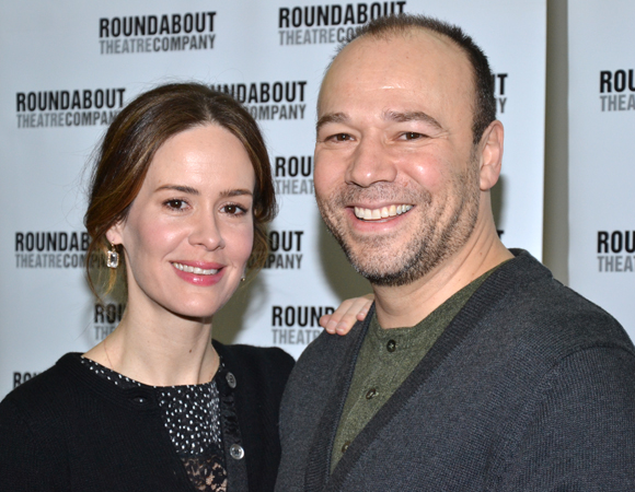 Sarah Paulson and Danny Burstein star as the unlikely lovers Sarah Talley and Matt Friedman.