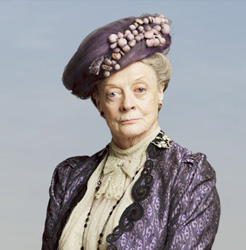 Maggie Smith in a promotional shot for <i>Downton Abbey</i>