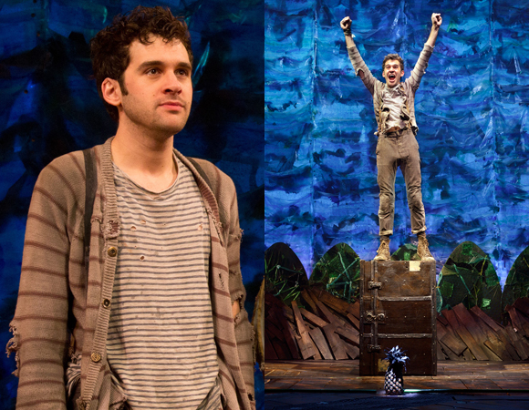 Adam Chanler-Berat in <i>Peter and the Starcatcher</i>