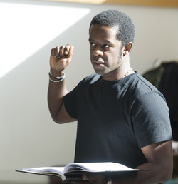 Best Actor Award winner Adrian Lester