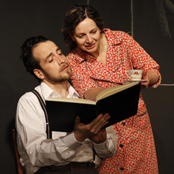 Antonio Vega and Ana Graham in <i>Working on a Special Day</i>