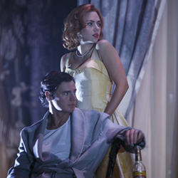 Scarlett Johansson and Benjamin Walker in &lt;i&gt;Cat on a Hot Tin Roof&lt;/i&gt;