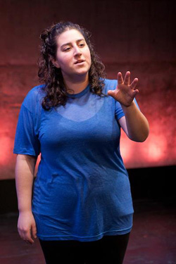 Caroline Rothstein will perform an autobiographic piece <i>faith</i> in Poetic License 2013 at The Wild Project.