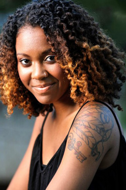 Eboni Hogan, who will perform &lt;i&gt;Foreign Bodies&lt;/i&gt; in Poetic Theater Productions&#039; festival, Poetic License 2013.
