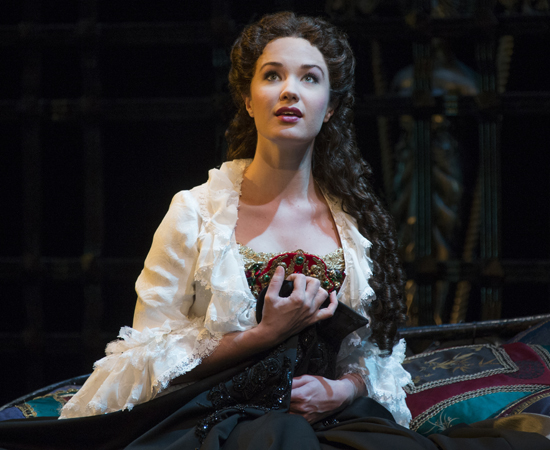 Sierra Boggess in <i>The Phantom of the Opera</i>