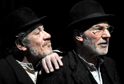Ian McKellen and Patrick Stewart in <i>Waiting for Godot</i>