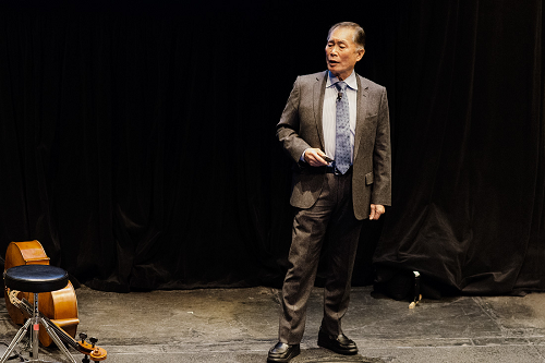 George Takei at TedxBroadway 2013, held for the second year at New World Stages on January 28.