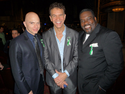 Michael Cerveris, Brian Stokes Mitchell, and Phillip Boykin at <i>From Broadway with Love: A Benefit for Sandy Hook</i>