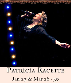 Patricia Racette will return to 54 Below this March.