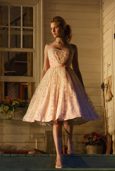 Maggie Grace in <i>Picnic</i> at the American Airlines Theatre.