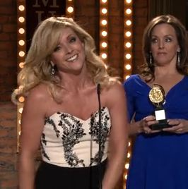 Jane Krakowski and Alice Ripley on <i>30 Rock</i>