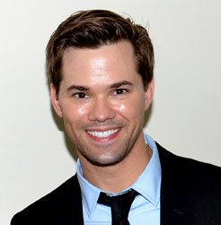 Tony Award nominee and <i>The New Normal</i> star Andrew Rannells