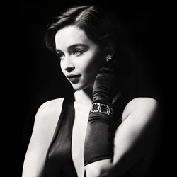 Emilia Clarke as Holly Golightly