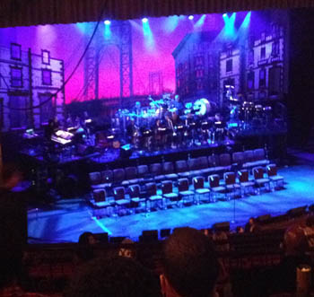The stage at the United Palace for <i>In the Heights</i>
