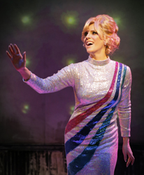 Kirsten Holly Smith as Dusty Springfield in <i>Forever Dusty</i>