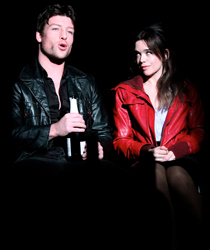 John Duddy and Laoisa Sexton in <i>For Love</i>