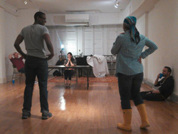 Lili-Anne Brown in rehearsal for <I>See What I Wanna See</I>.