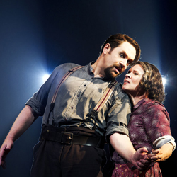 Michael Ball and Imelda Staunton in <i>Sweeney Todd</i>