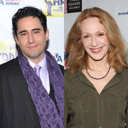 John Lloyd Young and Jan Maxwell