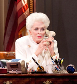 Holland Taylor in &lt;I&gt;Ann&lt;/I&gt;.