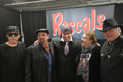Steven Van Zandt (center) and The Rascals