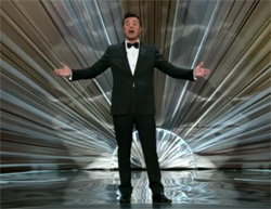 MacFarlane performing at the Oscars
