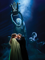 Katie Hall and Simon Bailey in <i>The Phantom of the Opera</i> UK Tour