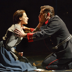 Judy Kuhn and Ryan Silverman in <i>Passion</i>