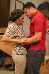 Michelle Wilson and Brandon J. Dirden in <i>Detroit 67</i>
