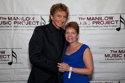 Barry Manilow and Lori McGill